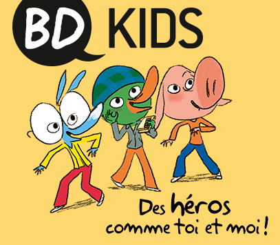 Illustration « BD Kids »
