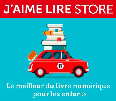 Illustration «J'aime lire Store»