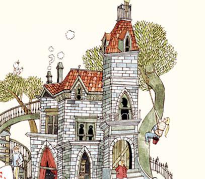 Illustration «Le Mystérieux cercle Benedict»
