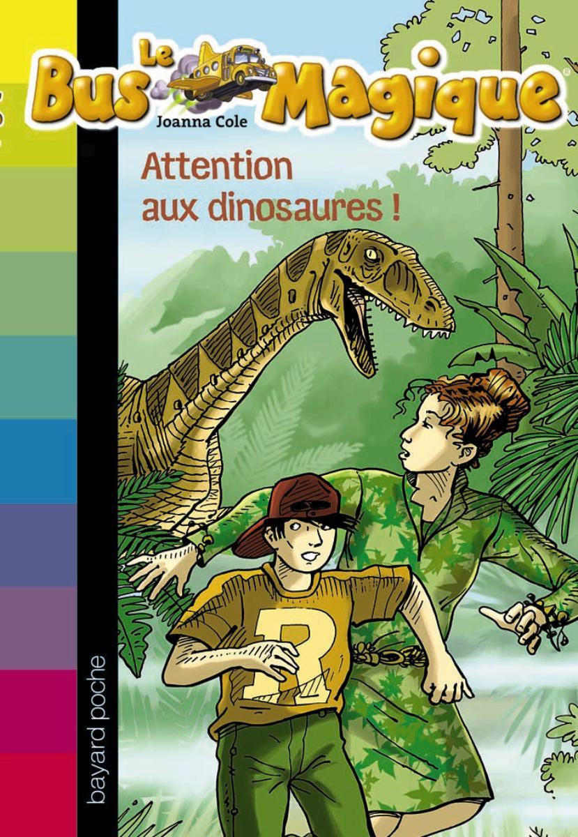 Couverture de «Attention aux dinosaures ! – N1»