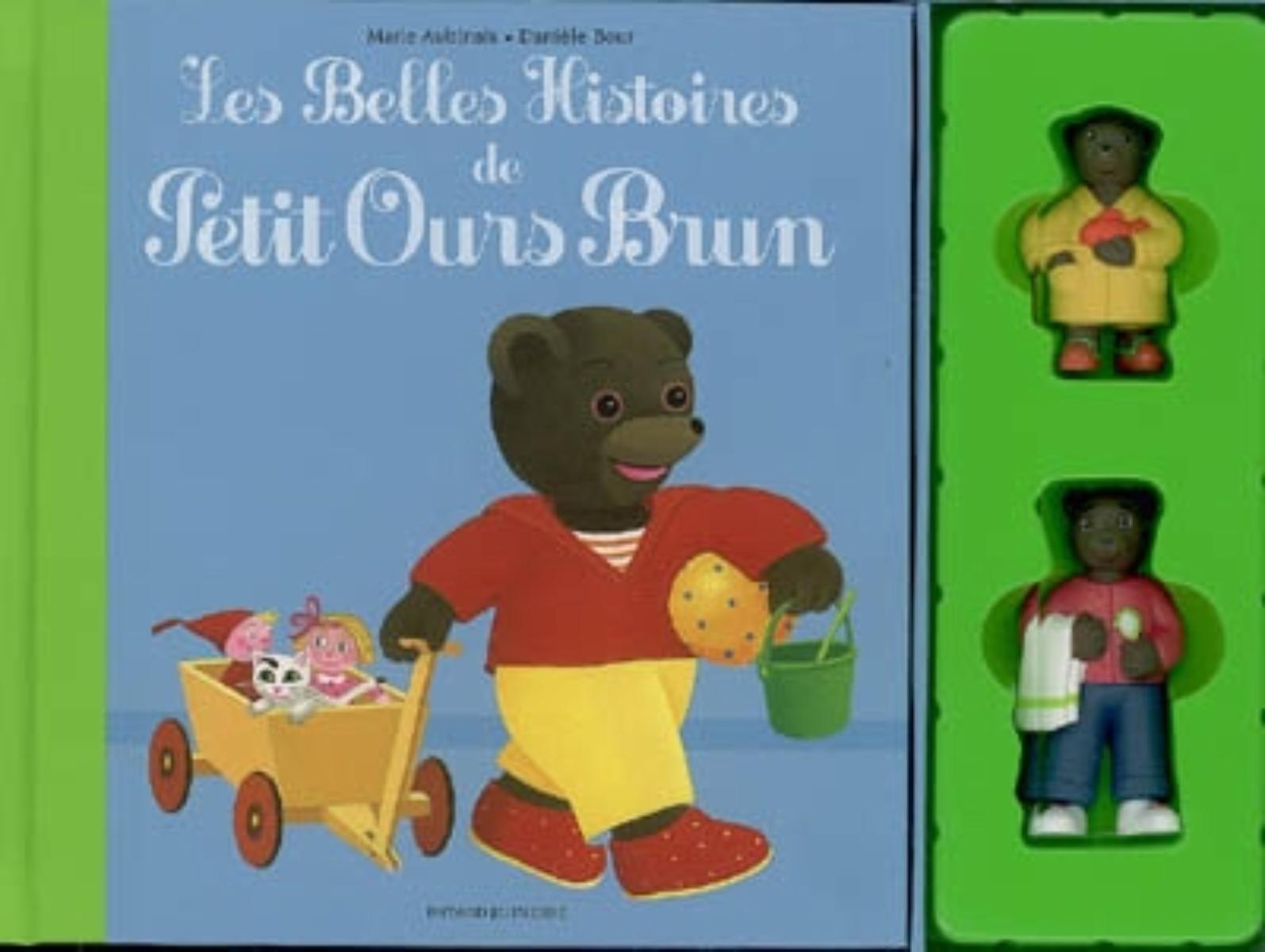 Couverture de «BELLES HISTOIRES DE PETIT OURS BRUN (LES)»