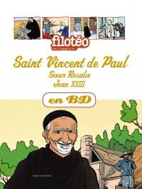 Couverture «CHERCHEURS DE DIEU – ST VINCENT DE PAUL – T4 –»