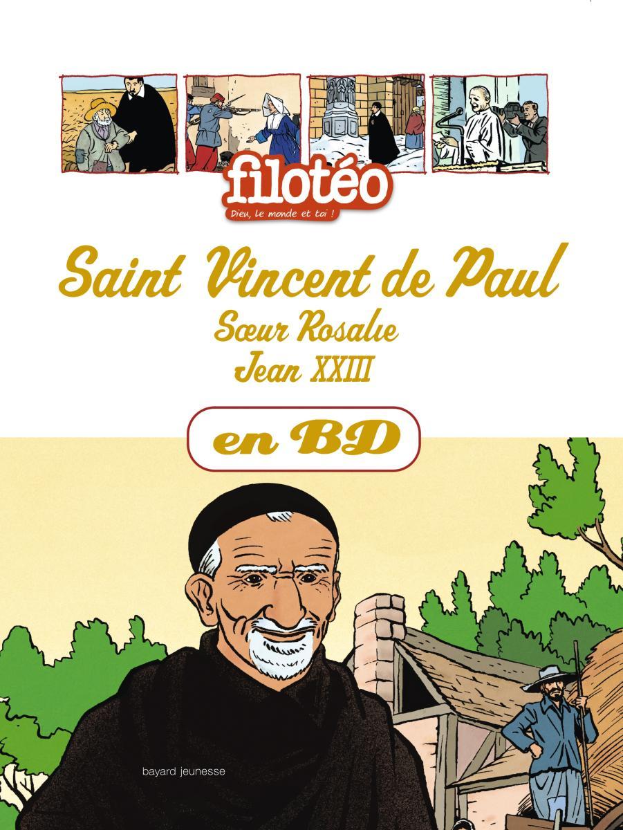 Couverture de «CHERCHEURS DE DIEU – ST VINCENT DE PAUL – T4 –»