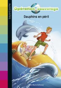 Couverture «DAUPHINS EN PÉRIL – N1»