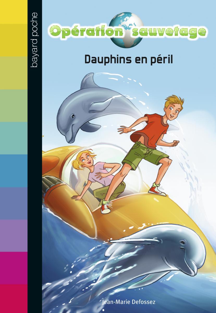 Couverture de «DAUPHINS EN PÉRIL – N1»