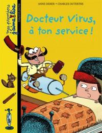 Couverture «Docteur Virus, à ton service !»