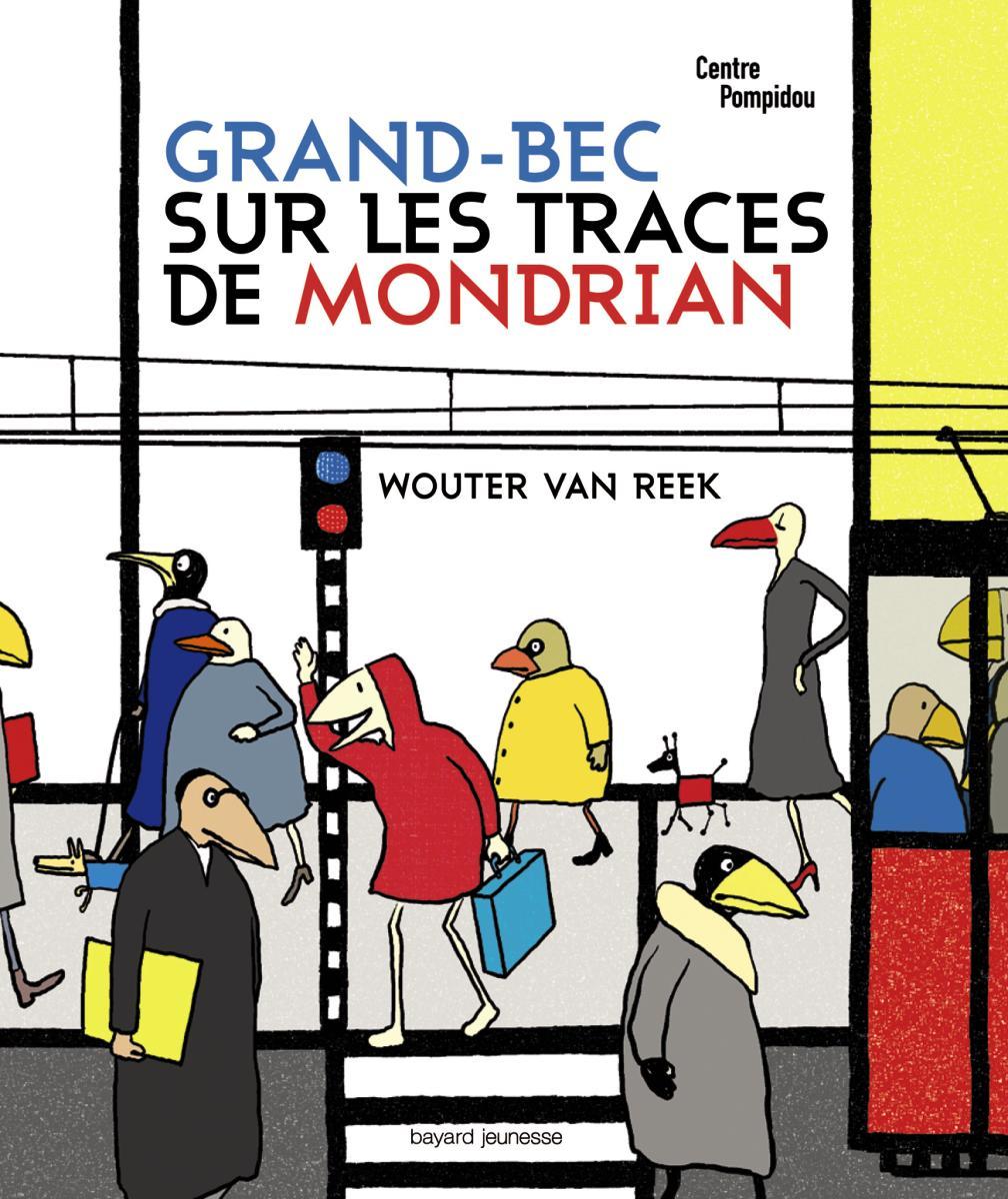Couverture de «Grand-Bec sur les traces de Mondrian»