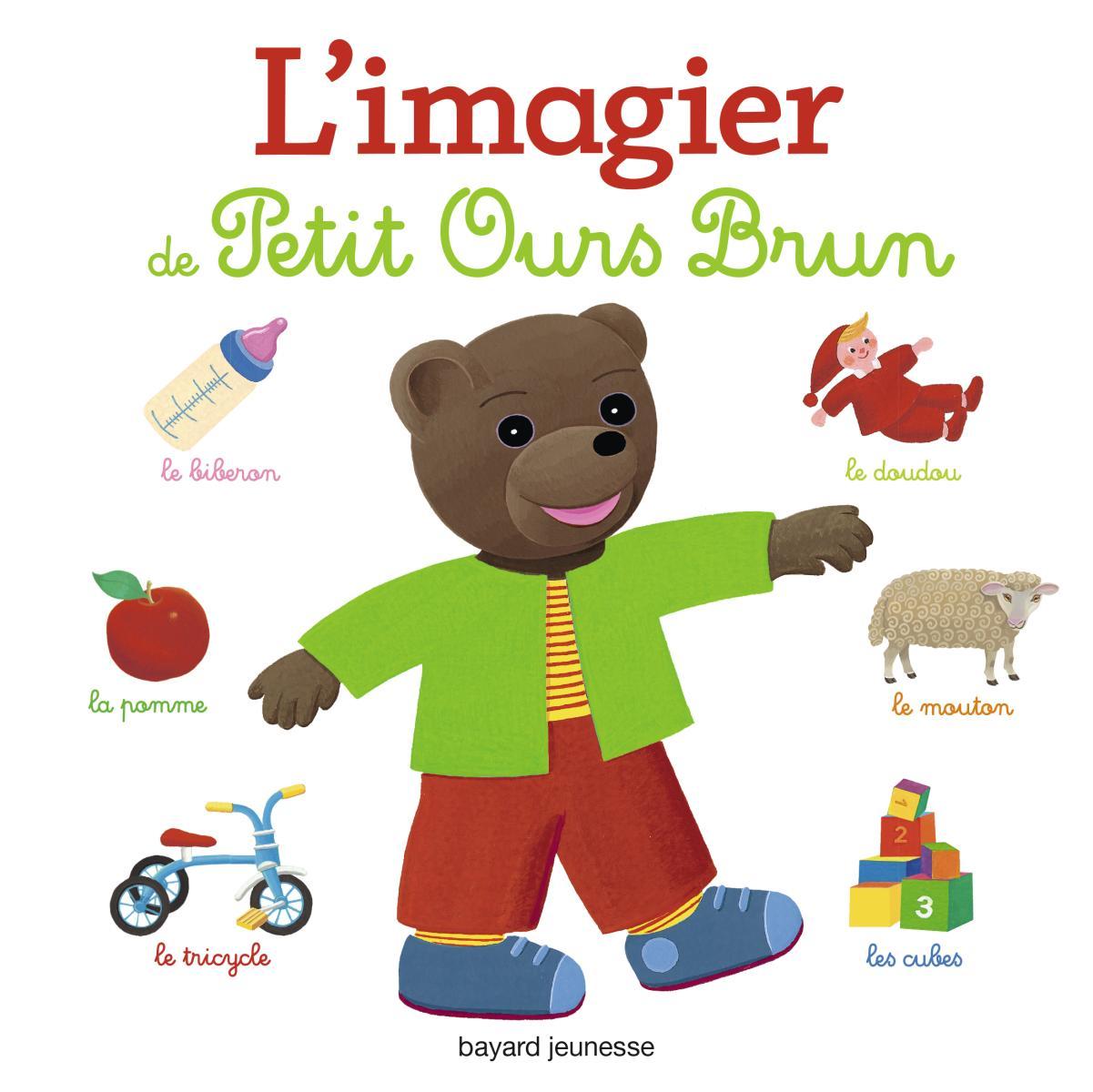 Couverture de «IMAGIER DE PETIT OURS BRUN (L')»