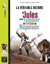 Couverture «JULES, JEUNE TAMBOUR DANS L'ARMÉE DE NAPOLÉON»