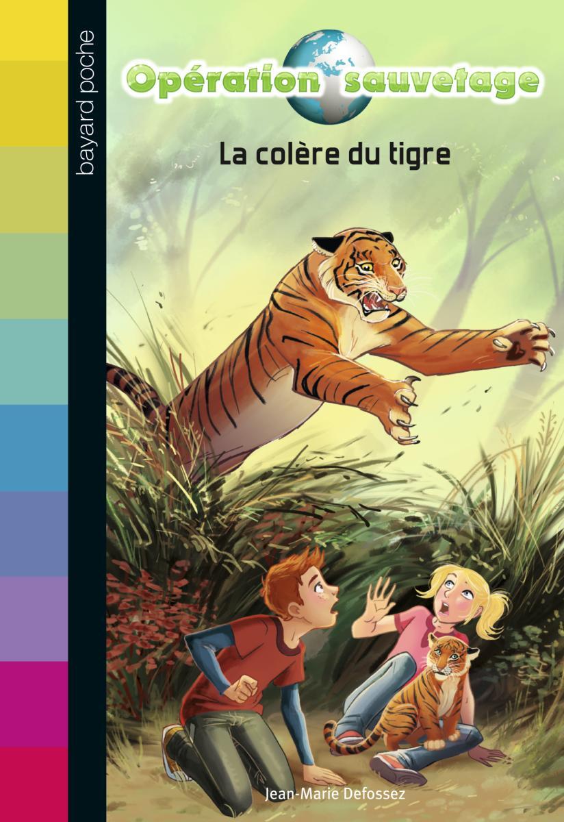 Couverture de «LA COLÈRE DU TIGRE – N3»