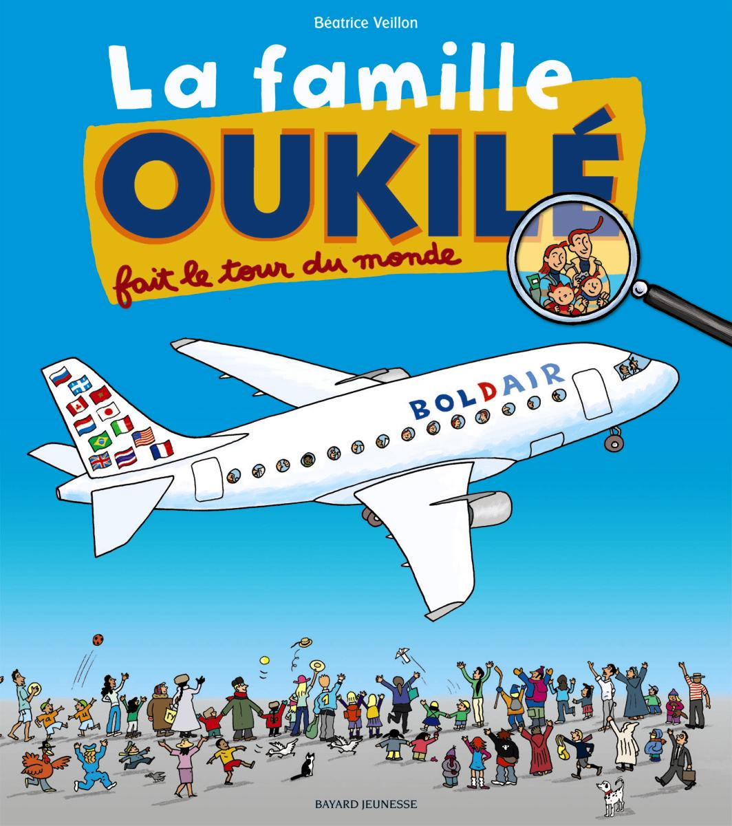 Couverture de «La famille Oukilé fait le tour du monde»