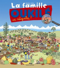 Couverture «la famille oukile se regale !»