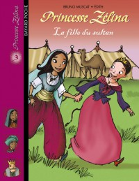 Couverture « La fille du sultan »