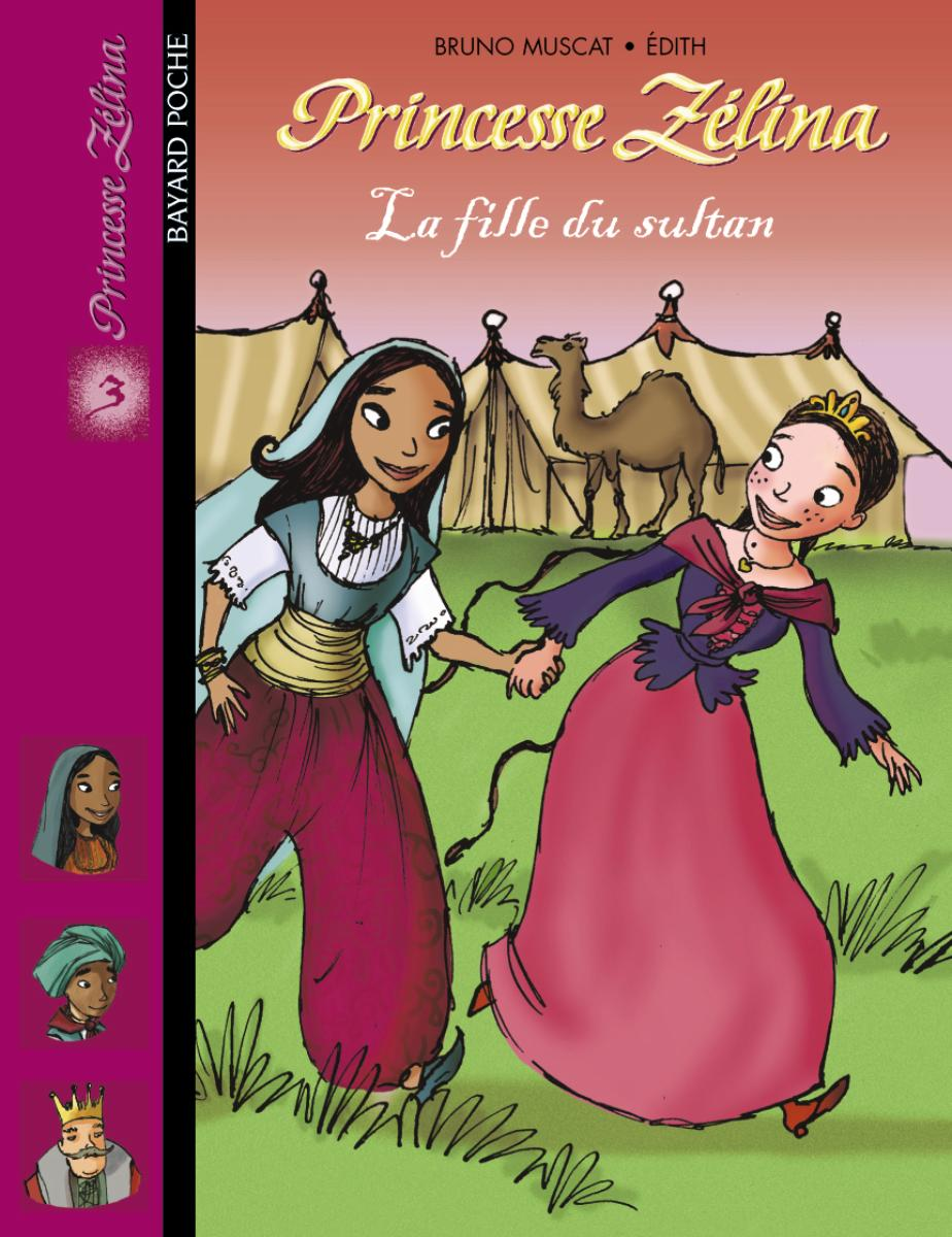 Couverture de « La fille du sultan »