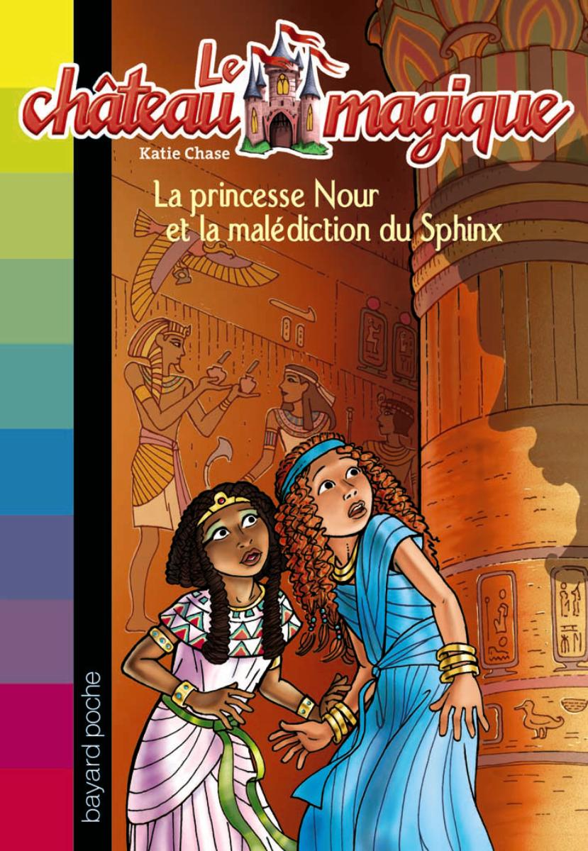 Couverture de « La princesse Nour et la malédiction du Sphinx »