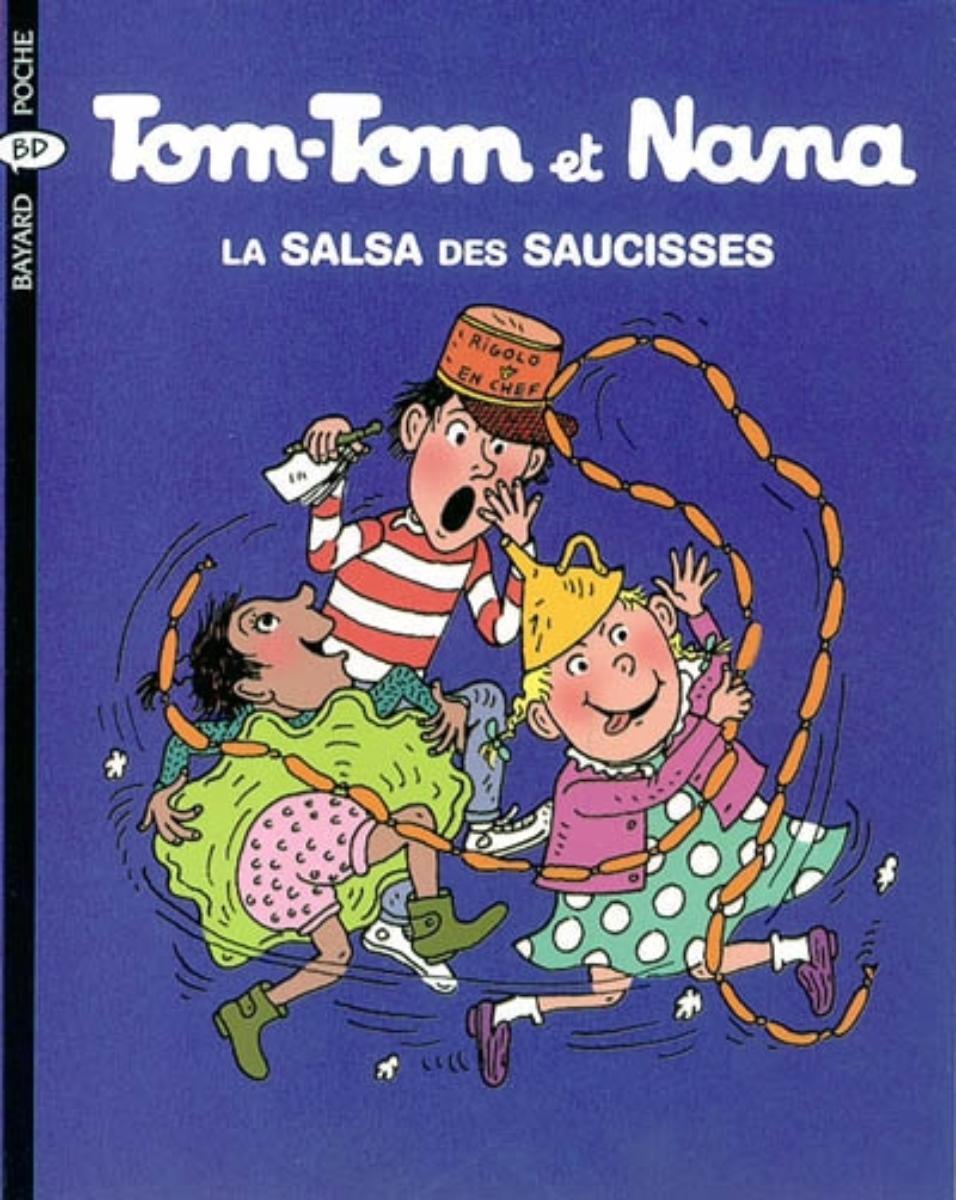 Couverture de «La salsa des saussices – Tom Tom et Nana – T30»