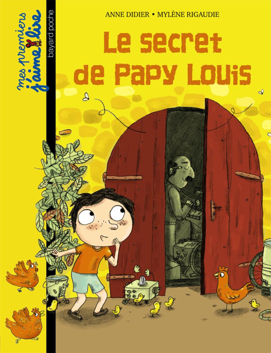 Couverture de « Le secret de Papy Louis »