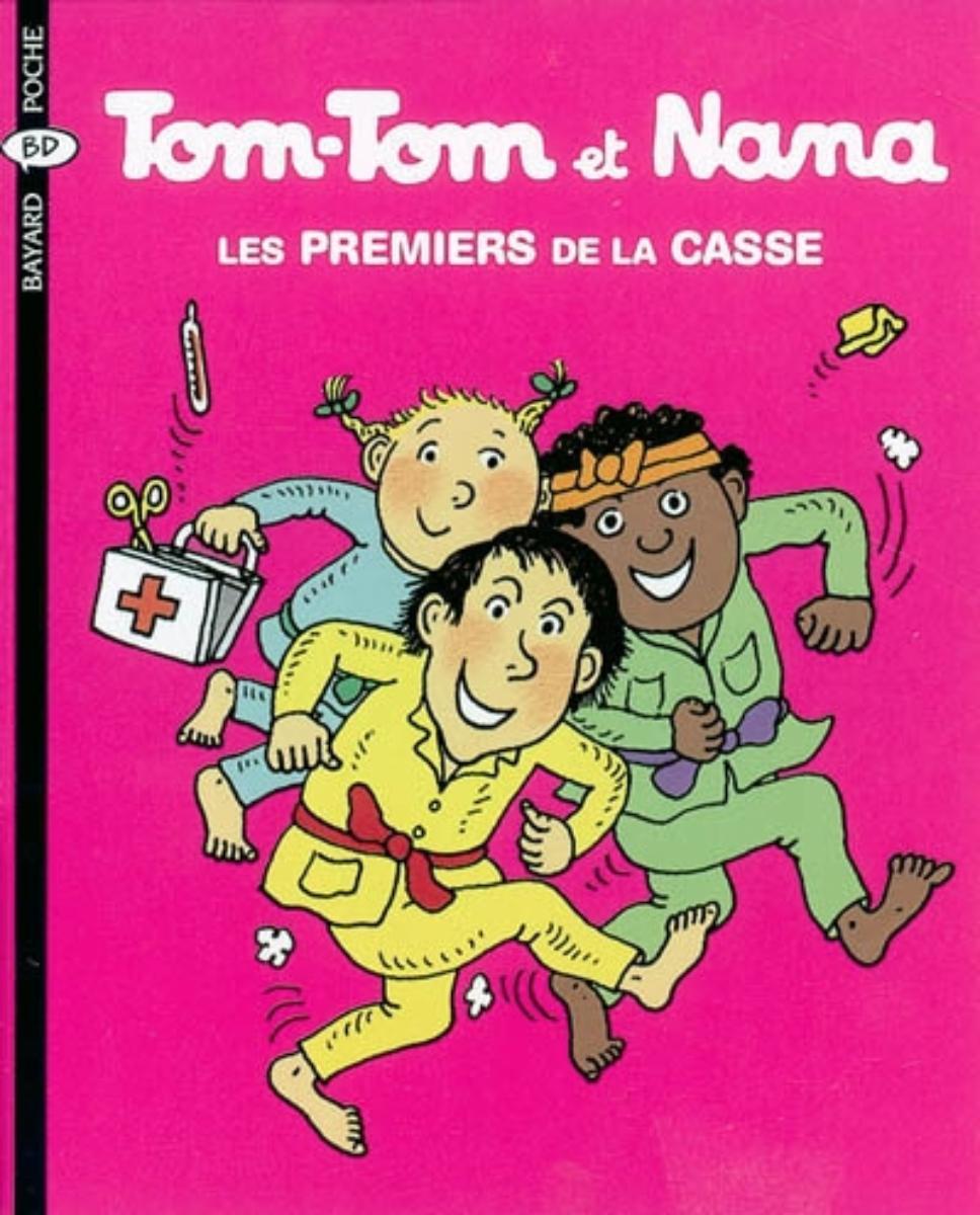 Couverture de «Les premiers de la classe -Tom Tom et Nana – T10»