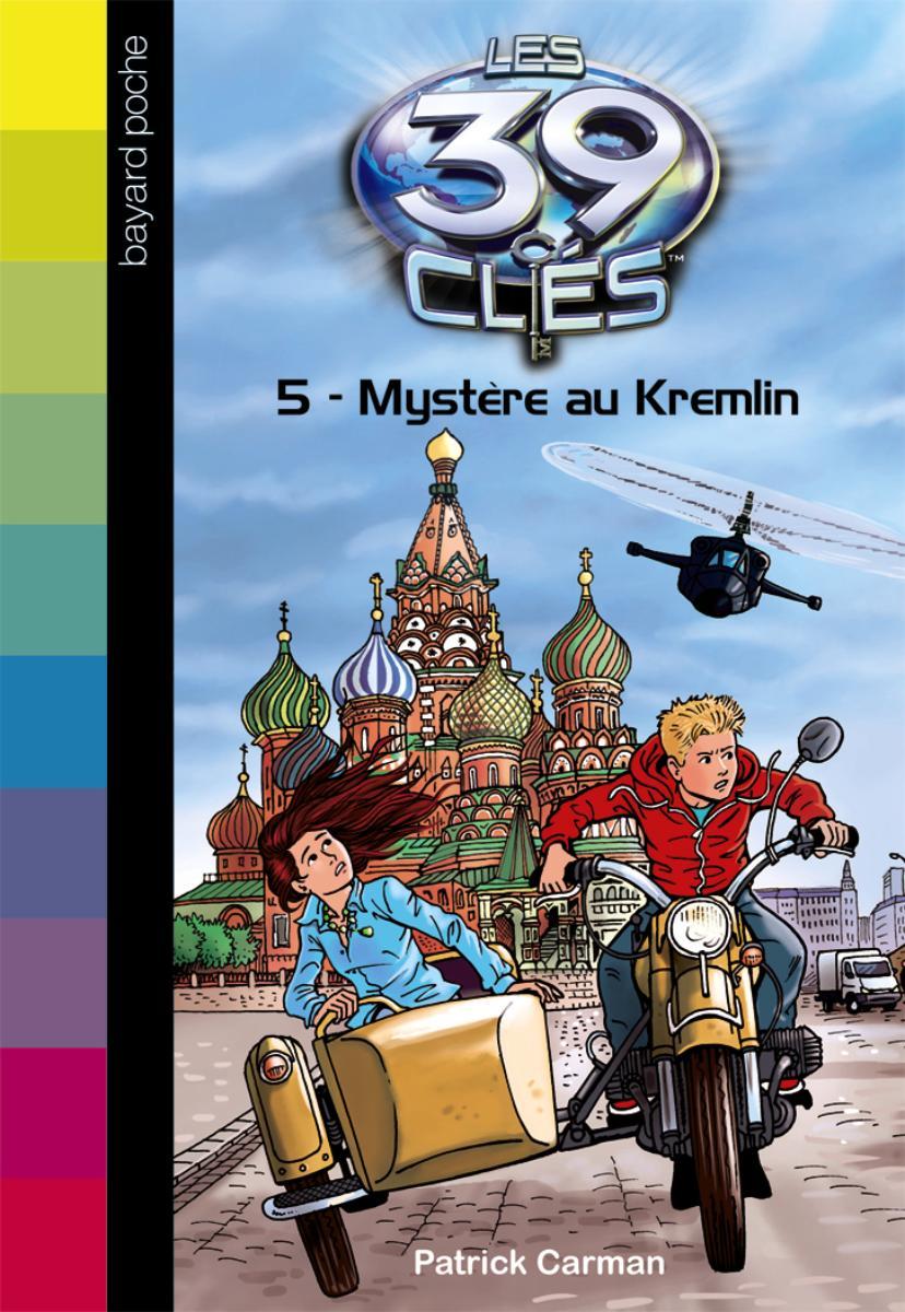 Couverture de «MYSTERE AU KREMLIN – N5»