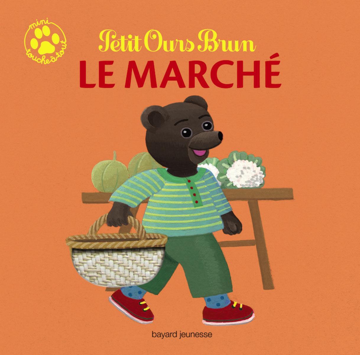 Couverture de «PETIT OURS BRUN : LE MARCHÉ»
