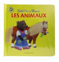 Couverture «PETIT OURS BRUN : LES ANIMAUX»