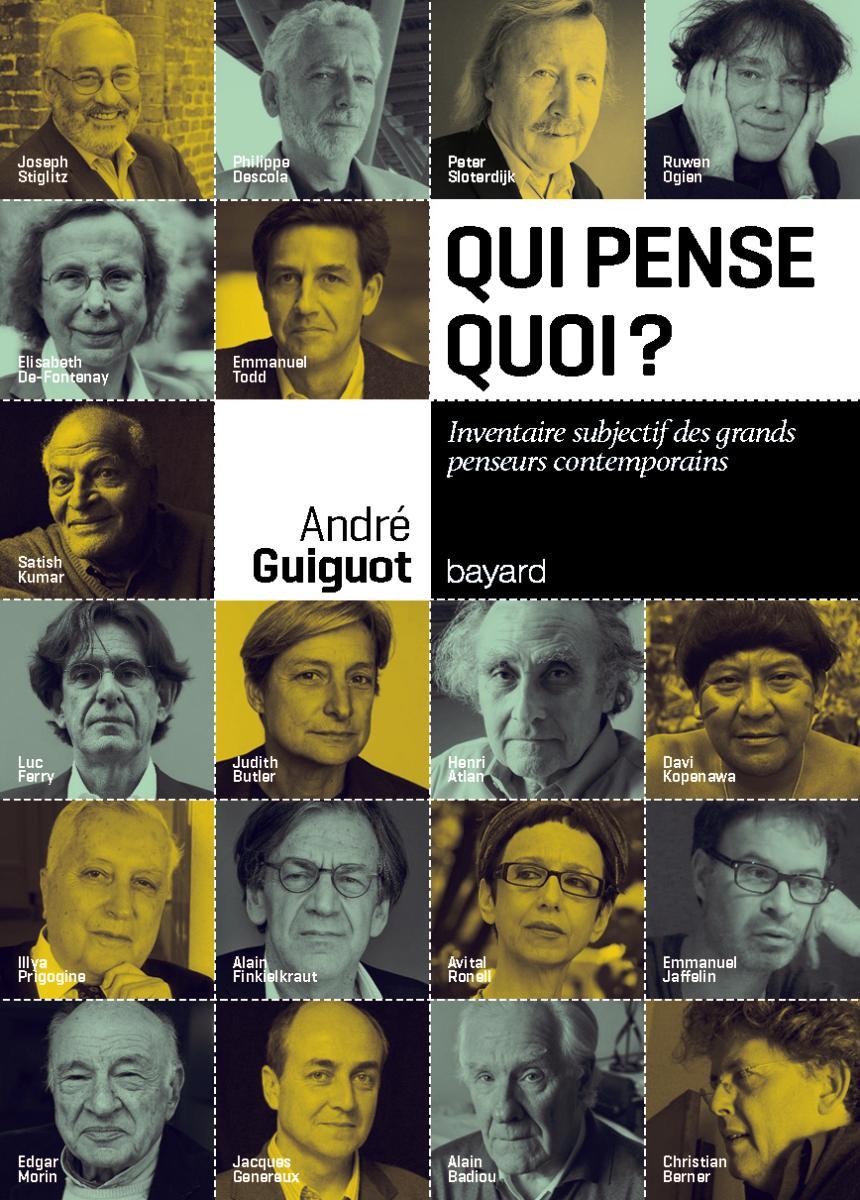 Couverture de «QUI PENSE QUOI ? inventaire subjectif des grands penseurs contemporains»