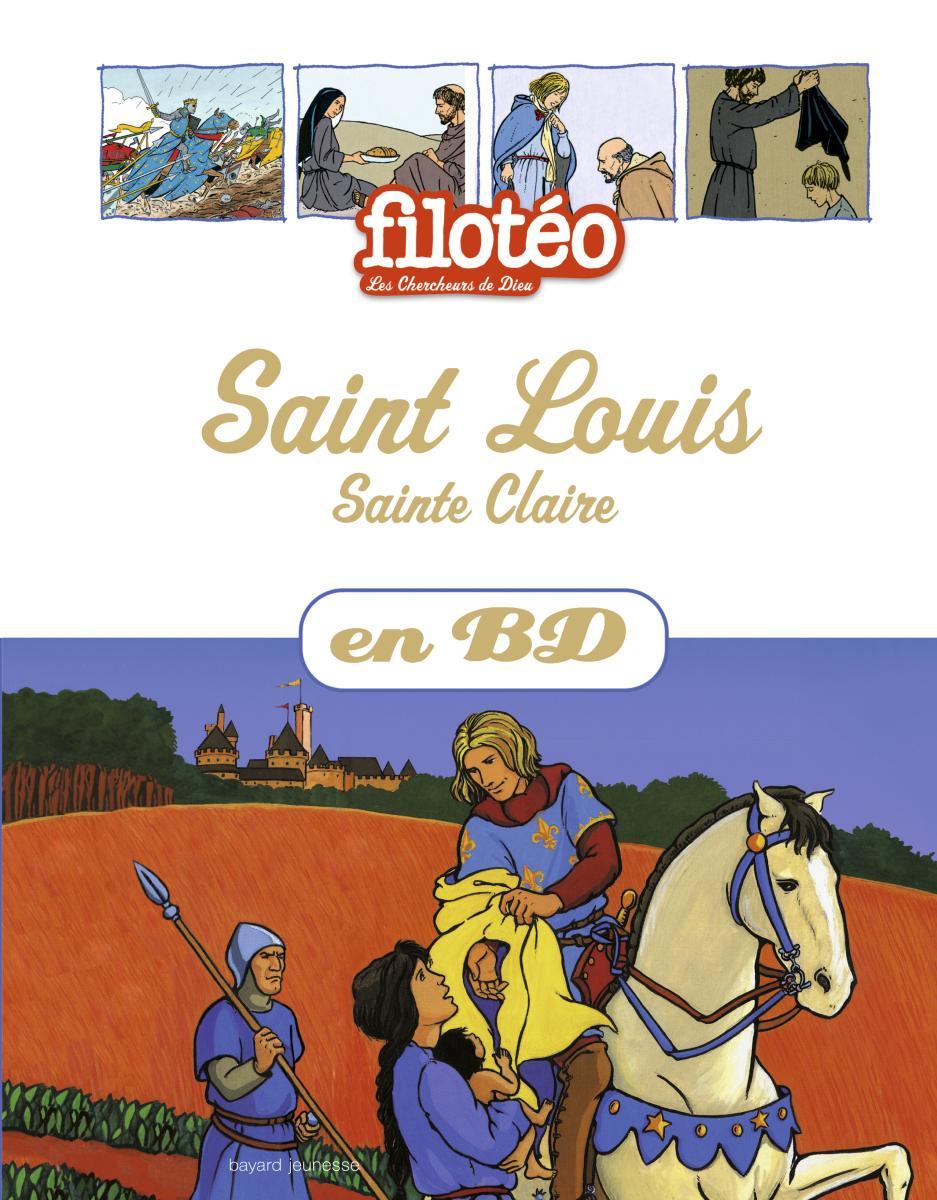 Couverture de «Saint Louis – Sainte Claire»