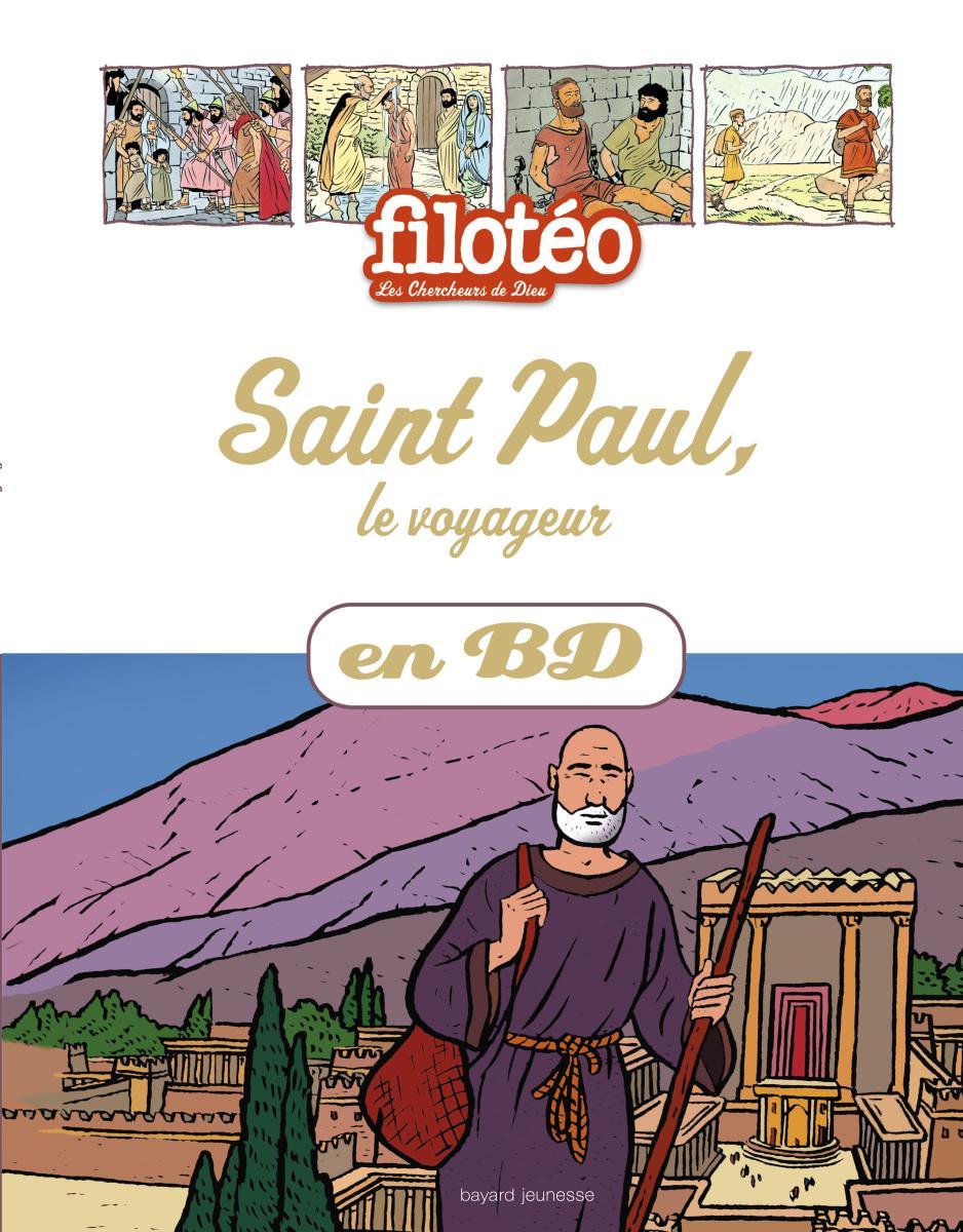 Couverture de «Saint Paul le voyageur»