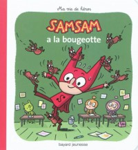 Couverture «SamSam a la bougeotte – N4»