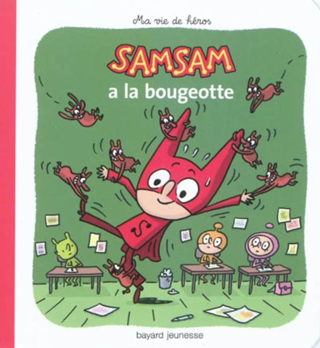 Couverture de «SamSam a la bougeotte – N4»