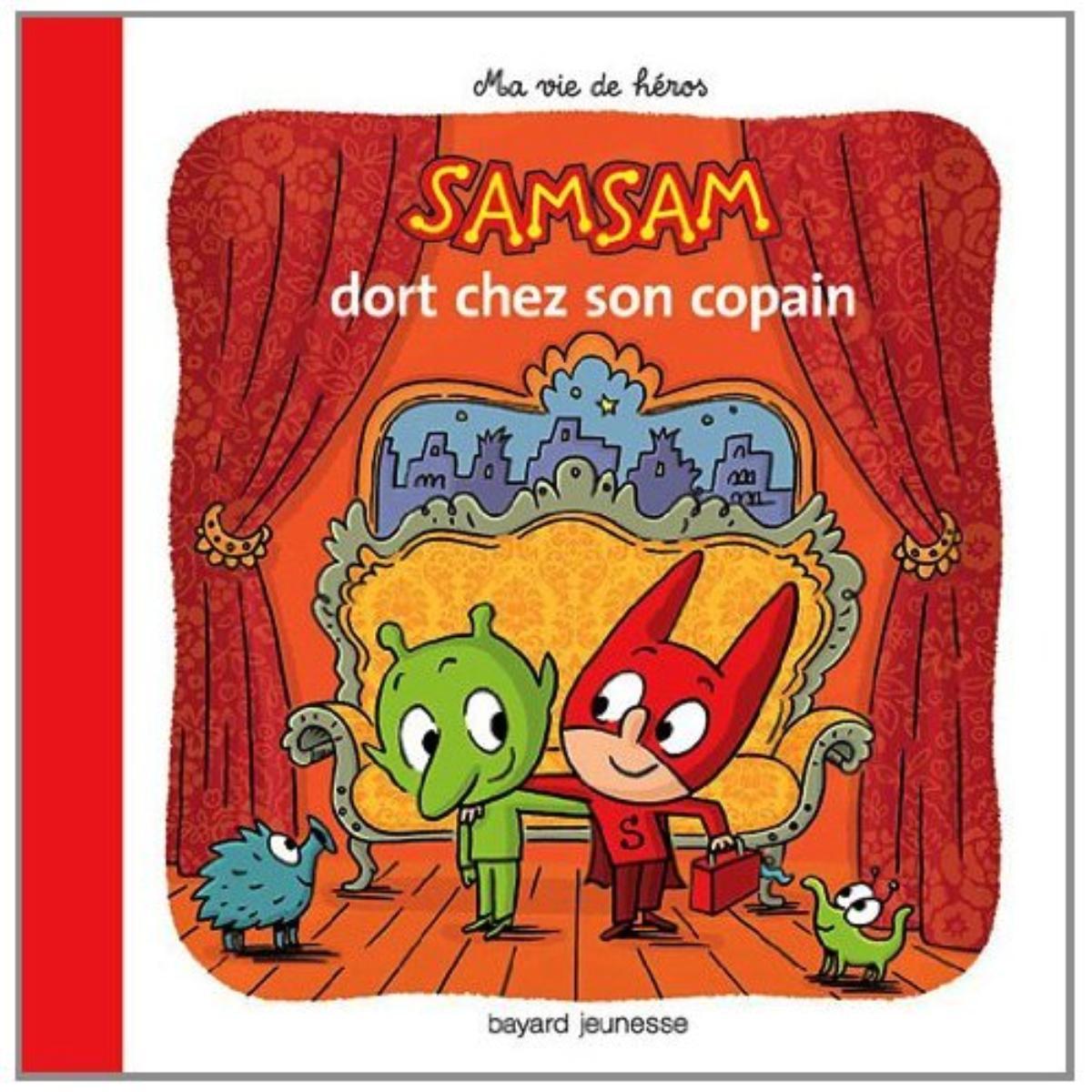 Couverture de «SAMSAM DORT CHEZ SON COPAIN»