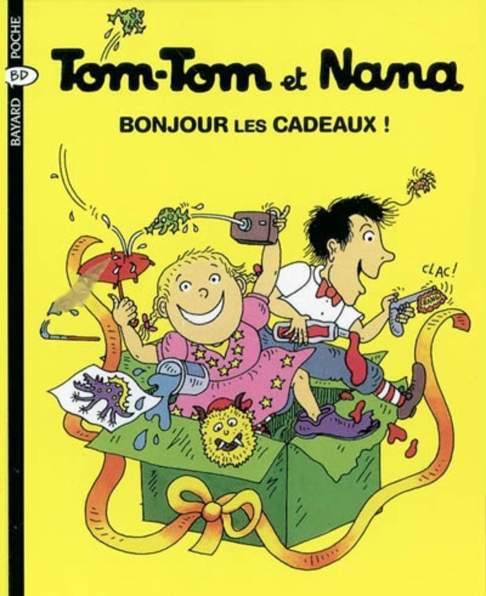 Couverture de «Tom-Tom et Nana – Bonjour les cadeaux ! – T13»