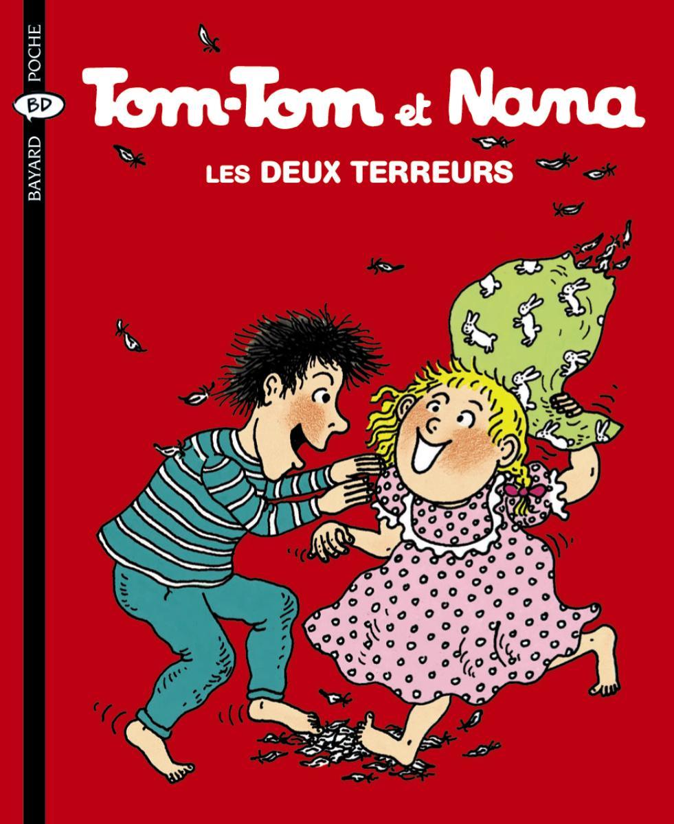 Couverture de «Tom Tom et Nana – Deux terreurs – T8»