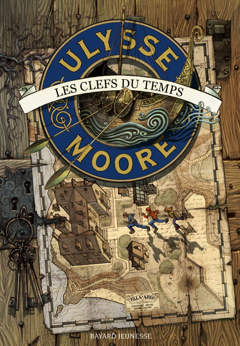 Couverture de «ULYSSE MOORE – CLEFS DU TEMPS (LES) – T1»
