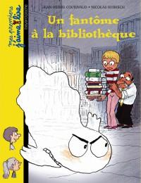 Couverture «Un fantôme à la bibliothèque»