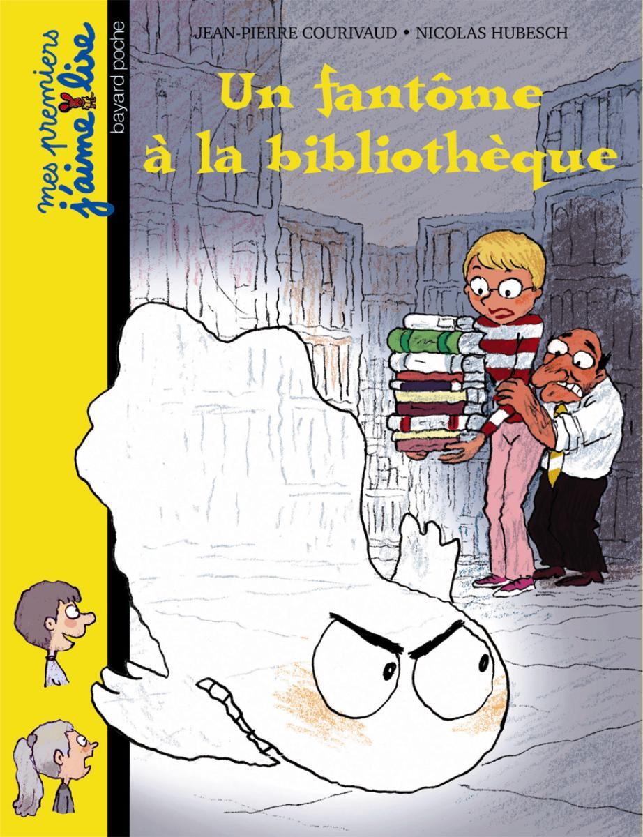 Couverture de «Un fantôme à la bibliothèque»