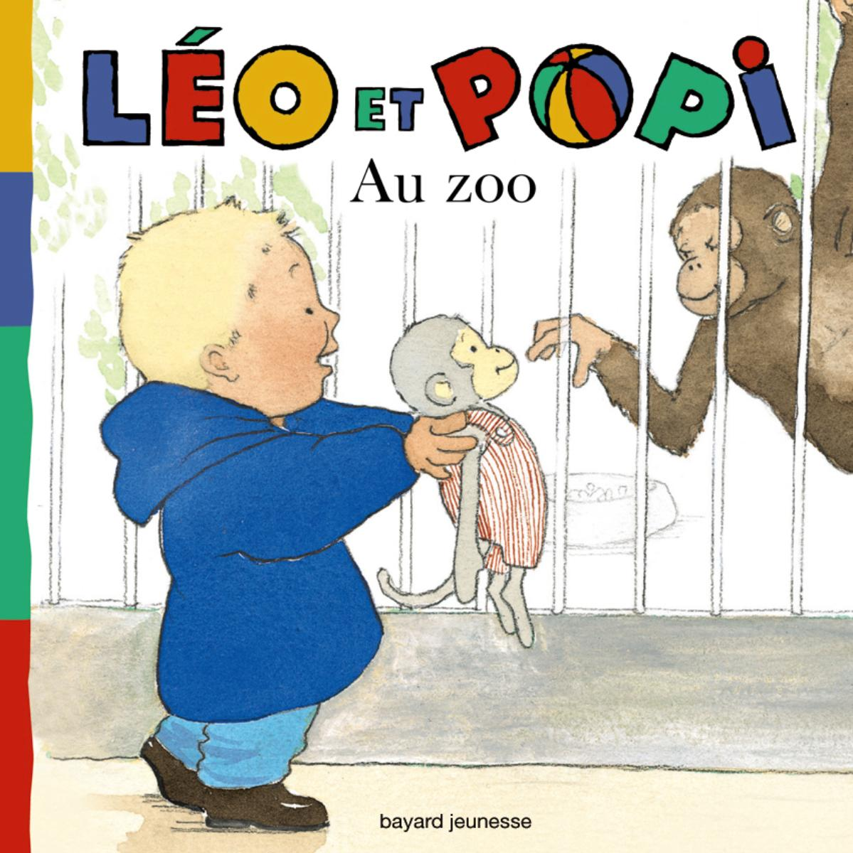 Couverture de « Au zoo »