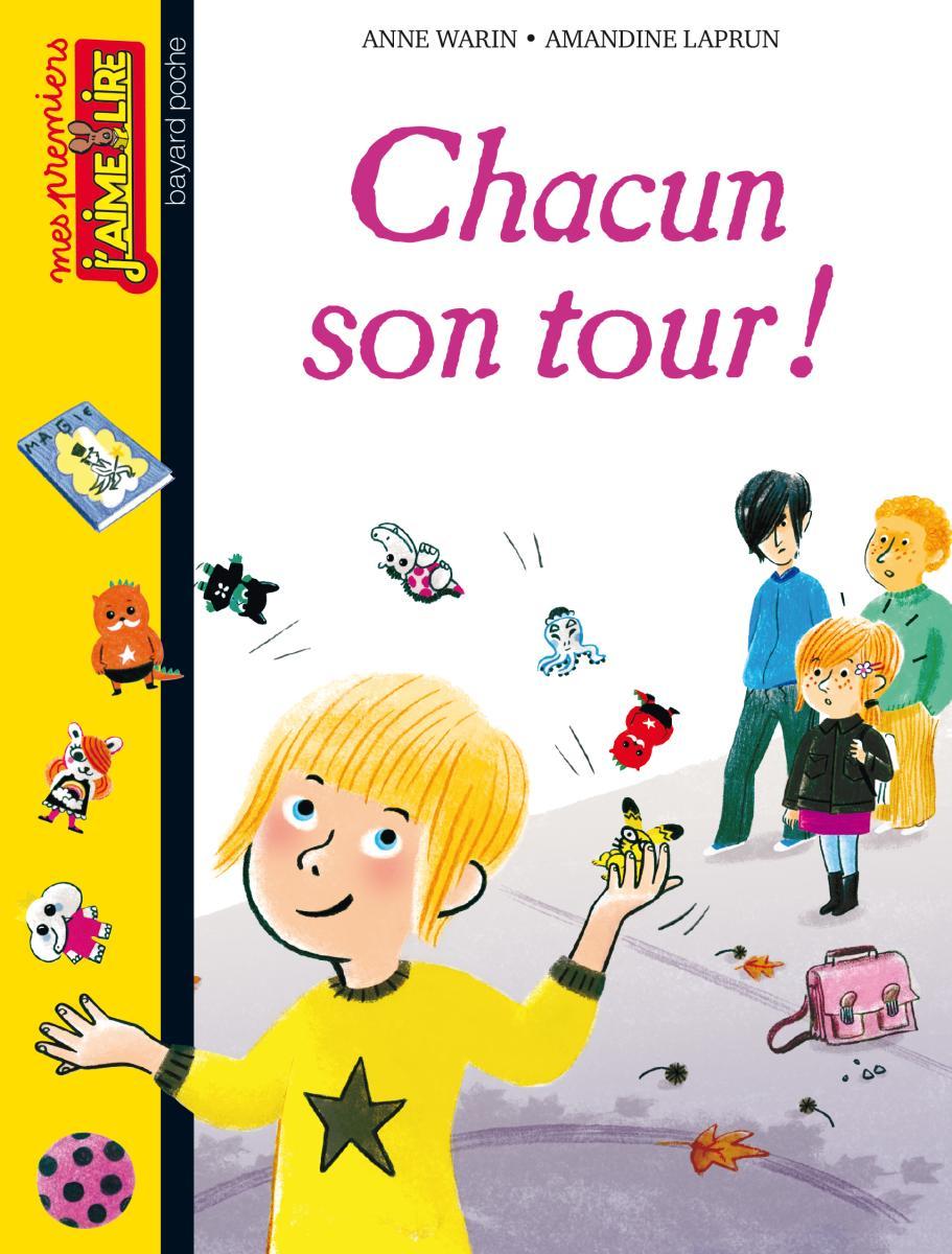 Couverture de «CHACUN SON TOUR !»