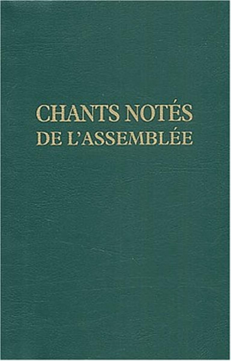 Couverture de «CHANTS NOTES POUR L'ASSEMBLEE»