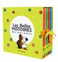 Couverture «COFFRET BELLES HISTOIRES DES TOUT-PETITS»