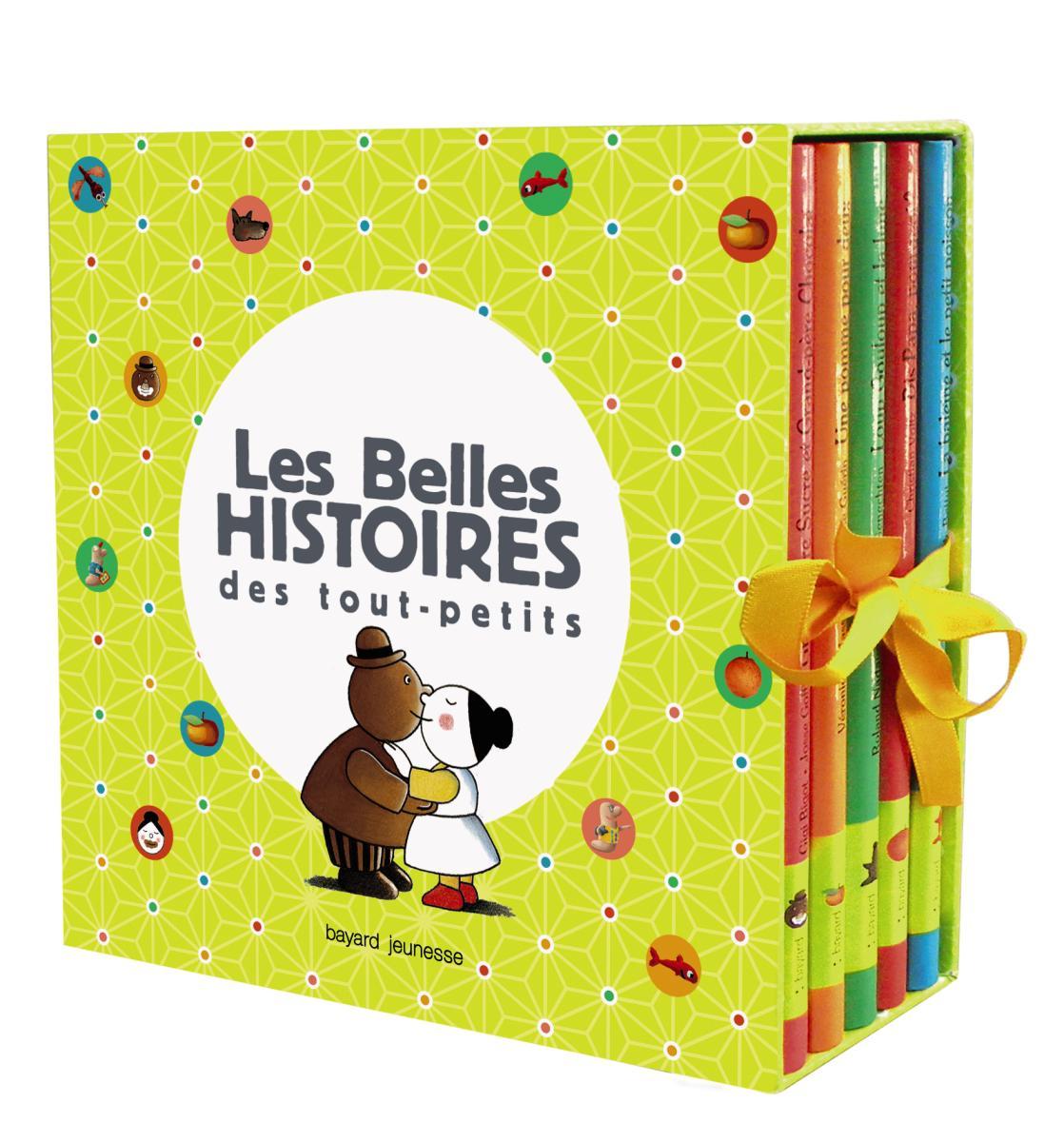 Couverture de «COFFRET BELLES HISTOIRES DES TOUT-PETITS»
