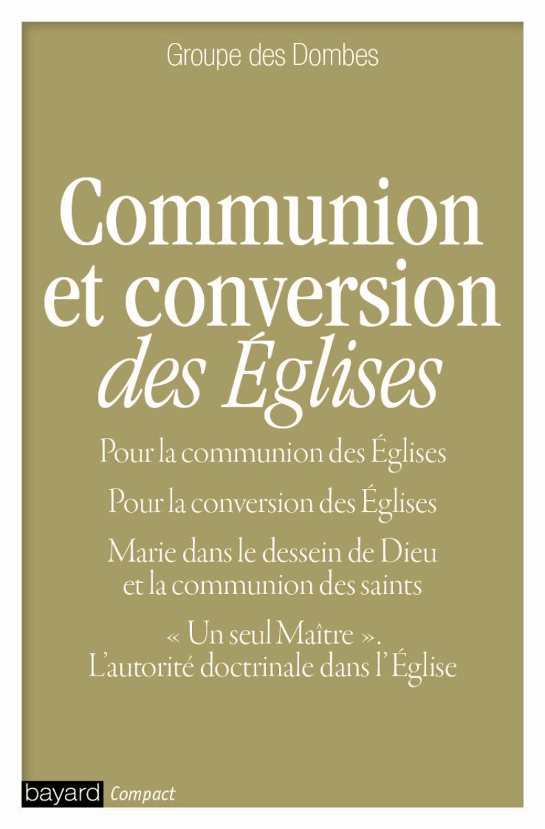 Couverture de «COMMUNION ET CONVERSION DES EGLISES»