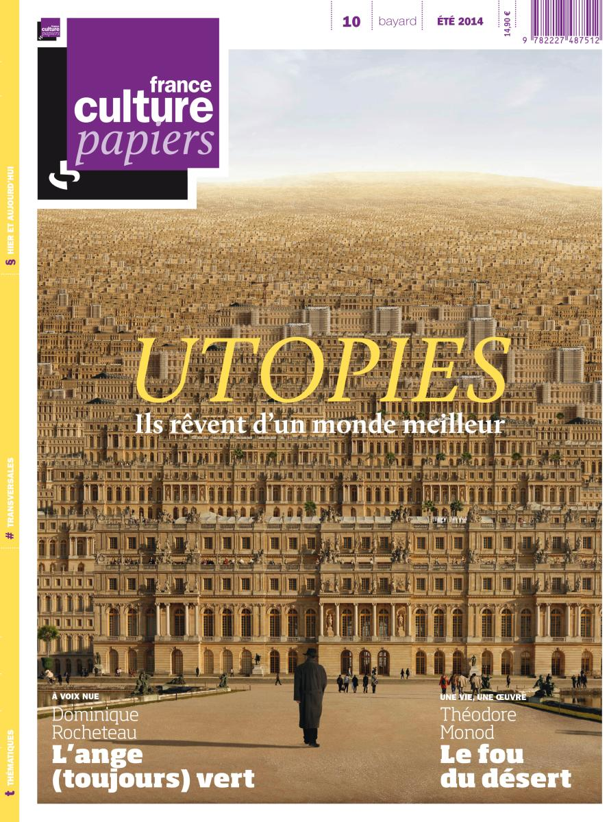 Couverture de « FRANCE CULTURE PAPIERS – N°10 – ETE 2014 »