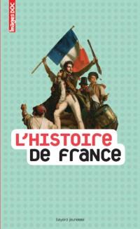 Couverture «HISTOIRE DE FRANCE (L')»