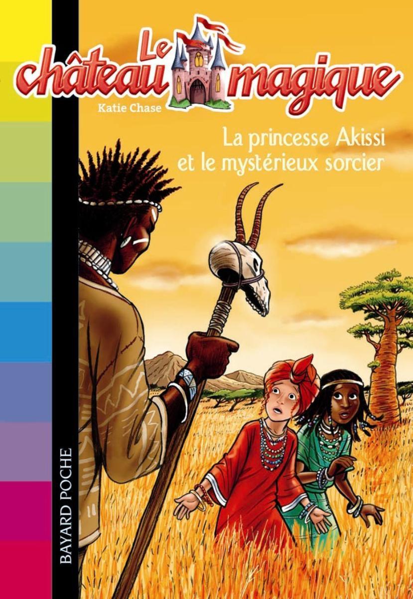 Couverture de «La princesse Akissi et le méchant sorcier»