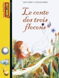 Couverture «LE CONTE DES TROIS FLOCONS»