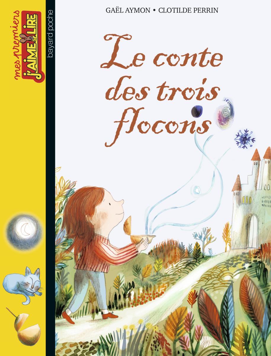 Couverture de «LE CONTE DES TROIS FLOCONS»
