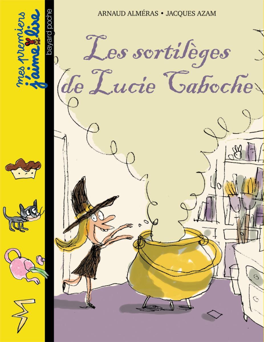 Couverture de «LES SORTILÈGES DE LUCIE CABOCHE»