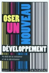 Couverture «Oser un nouveau développement»