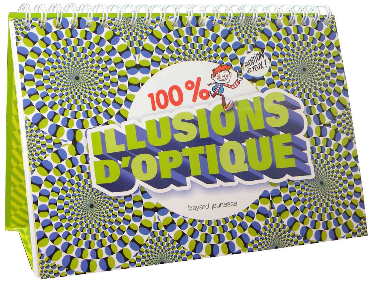 Couverture de «100% ILLUSIONS D'OPTIQUE»